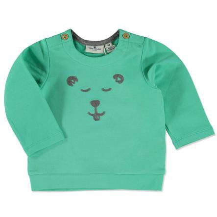 TOM TAILOR Boys bluza bluza Niedźwiedź Czysta mięta