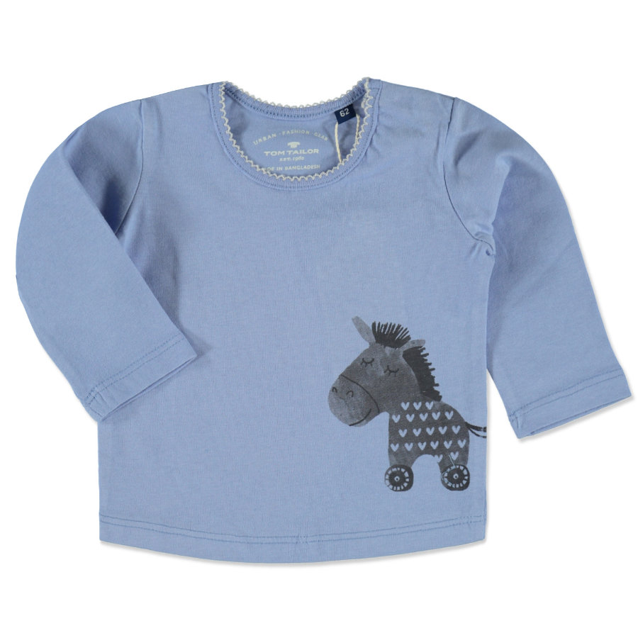 TOM TAILOR Girls T-Shirt dreamy blue