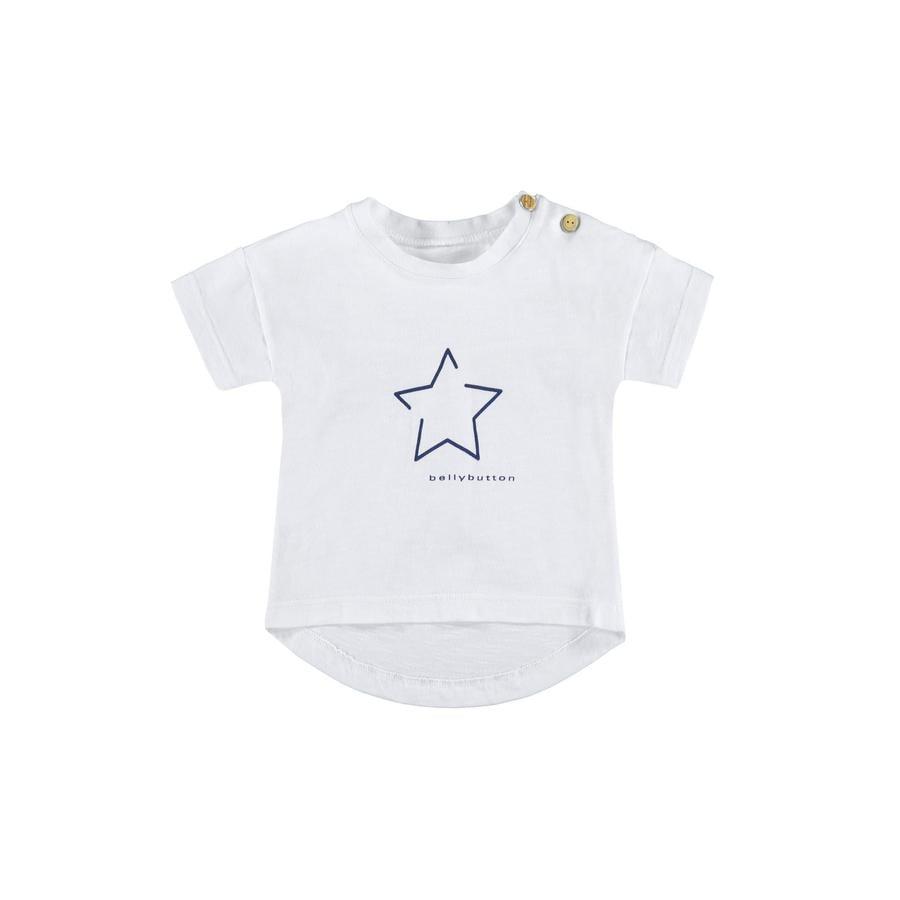 bellybutton Girl s T-Shirt jaskrawo-biały