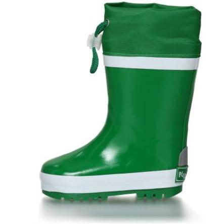 Playshoes gumové holínky se zelenou vložkou