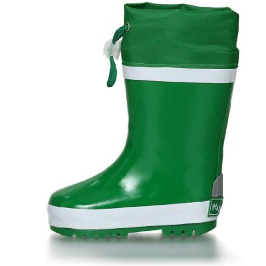 Playshoes Rubberen laarzen met groene voering