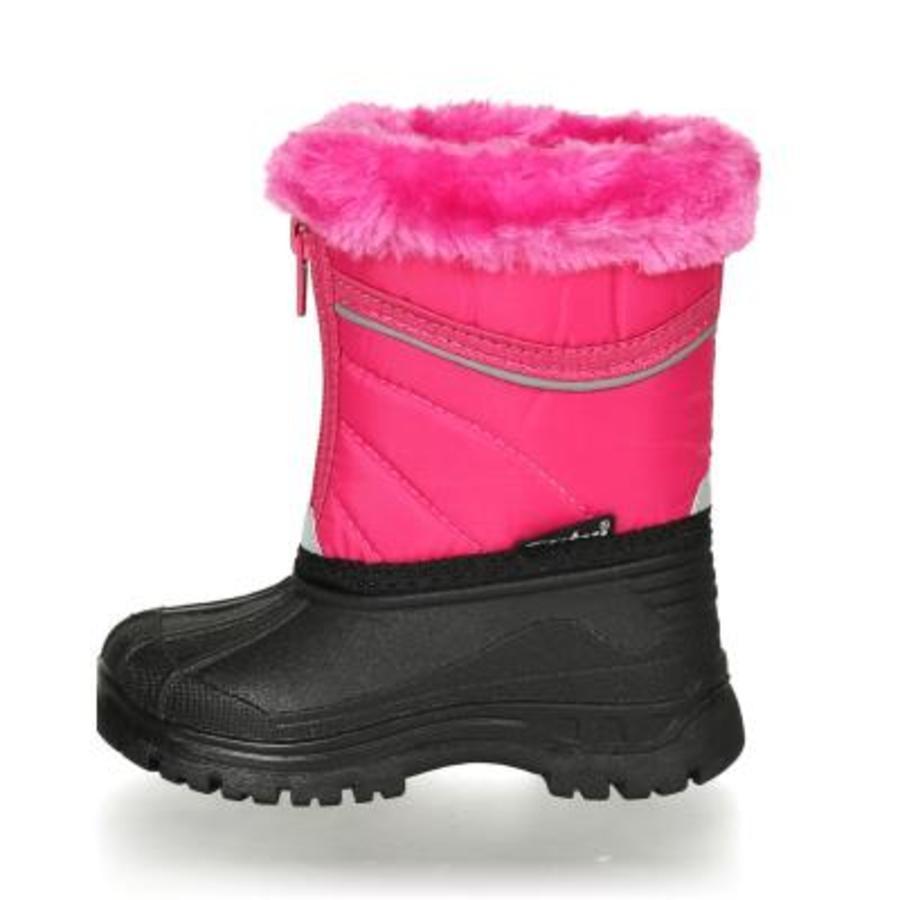 Playshoes Winter-Bootie mit Reisverschluss pink