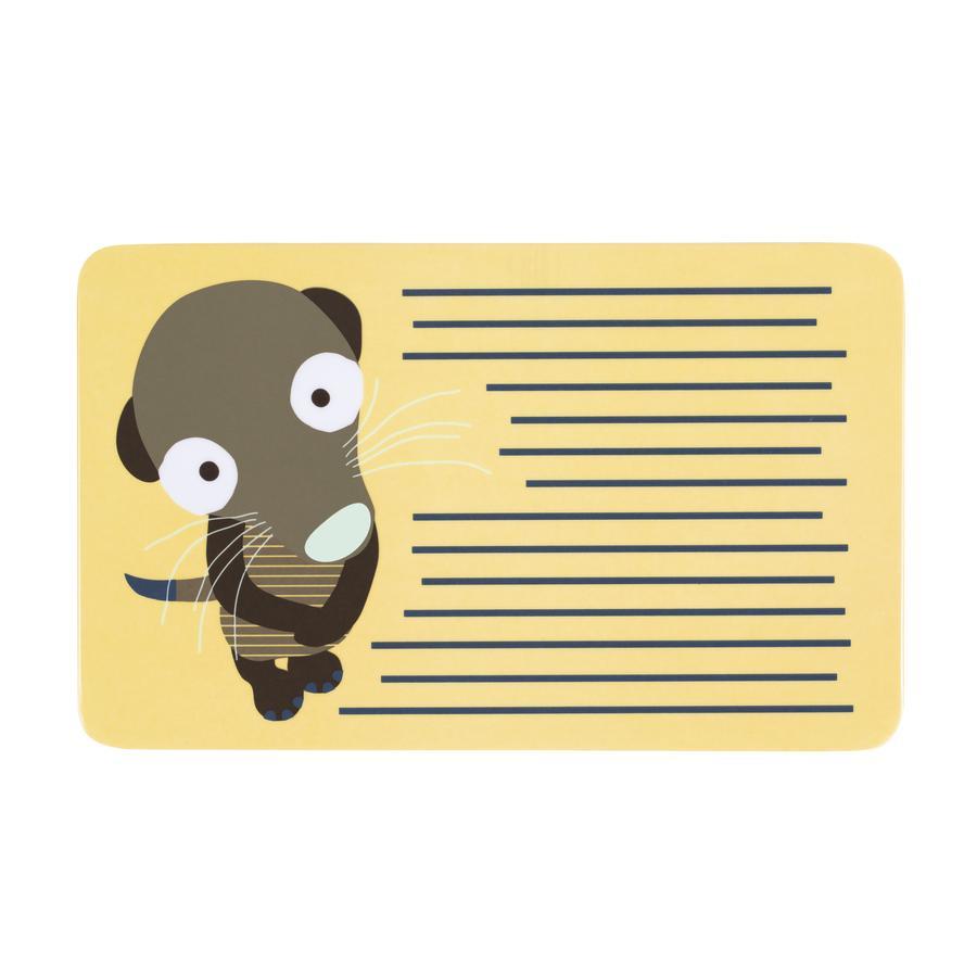 LÄSSIG Frühstücksbrett Wildlife Meerkat