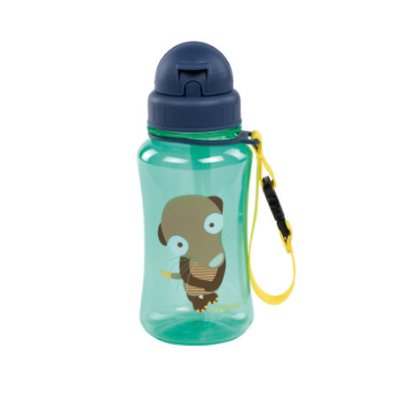 LÄSSIG Trinkflasche Wildlife Meerkat grün ab dem 18. Monat