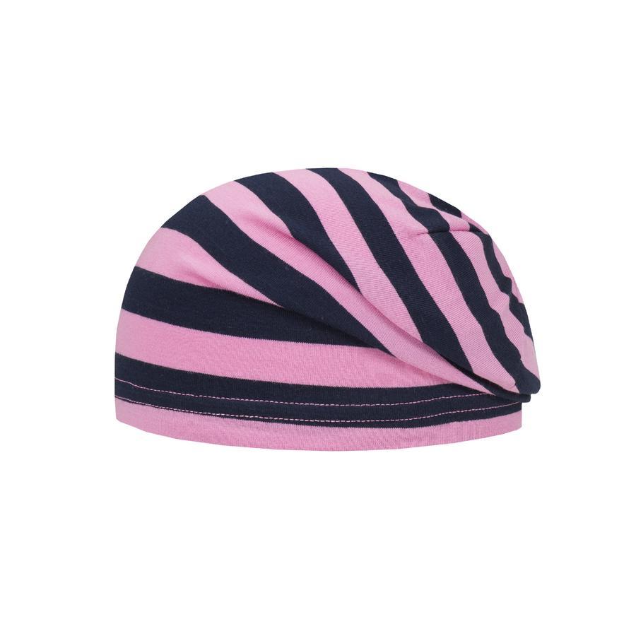 Döll Girls Bohomütze Jersey Streifen fuchsia pink