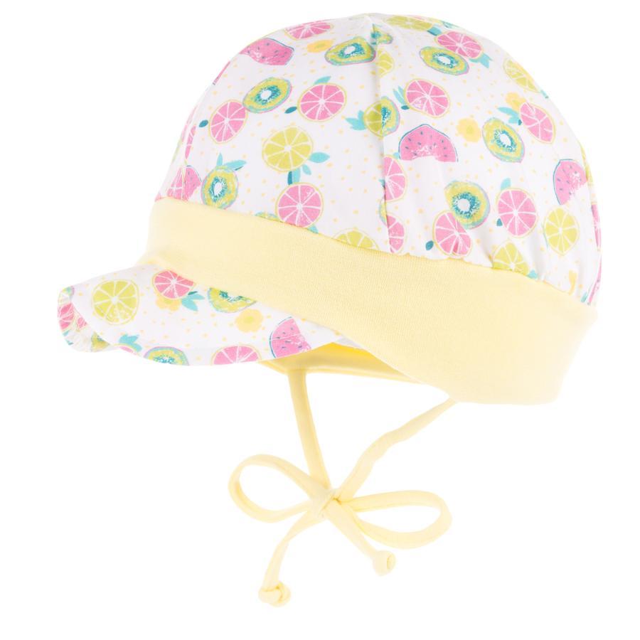 maximo Girls Schildmütze jasmingrün - pink