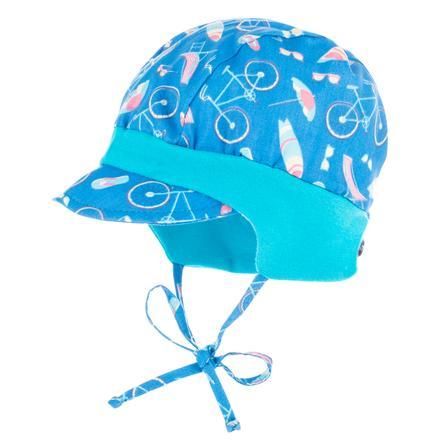 maximo Boys Schildmütze Jersey gletscherblau-baltic