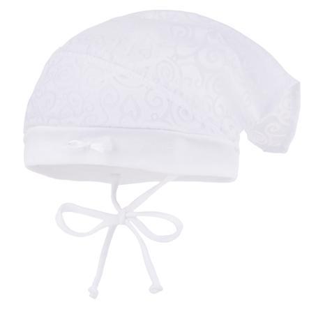 maximo Girls Kopftuchmütze Struktur artikweiß