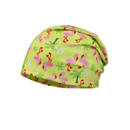 maximo Girls Beanie Jersey Flamingo sunny lime