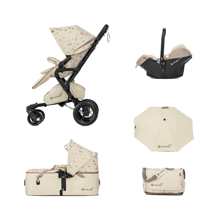 CONCORD Cochecito Neo Mobility-Set Ivory Limited Edition