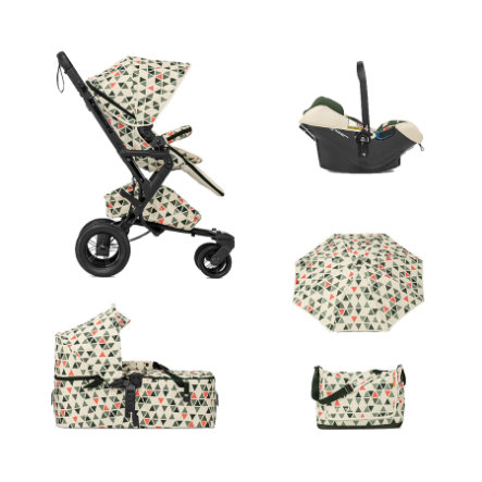 CONCORD Kinderwagen Neo Mobility-Set Emerald Limited Edition