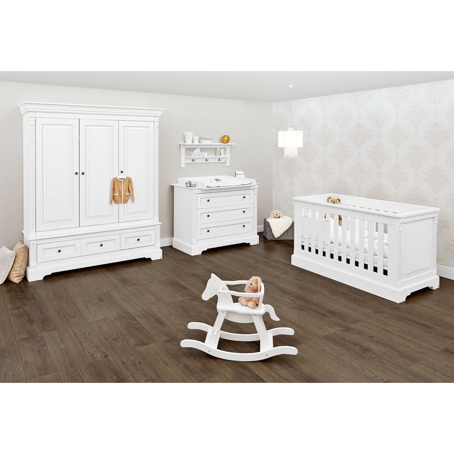 Pinolino Cameretta neonato Emilia, ampia, con armadio a 3-ante