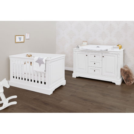 Pinolino Ensemble lit et commode Emilia, large