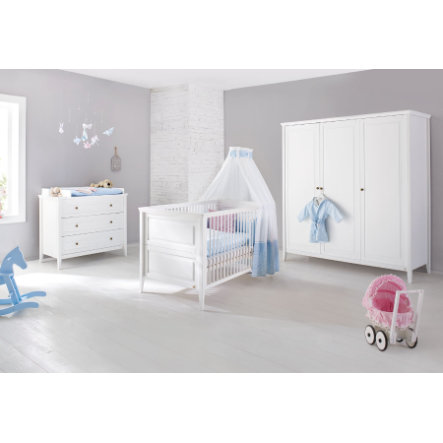 pinolino chambre d 39 enfant smilla armoire 3 portes. Black Bedroom Furniture Sets. Home Design Ideas