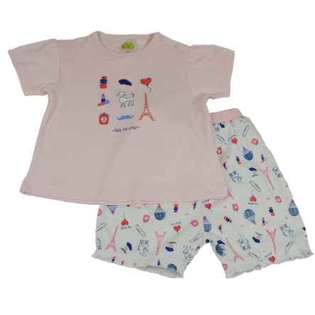 DIMO Girls Shorty Set Paris Girl
