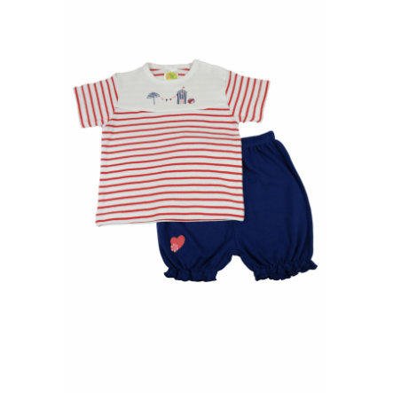 DIMO Girl s Shorty Set Shorty Set - paski morskie