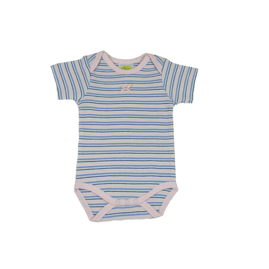 DIMO Baby Body Paris Girl blau gestreift