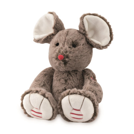 KALOO Peluche Souris Rouge, medium, cacao, 31 cm