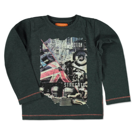STACCATO Boys Camisa steelblue mélange