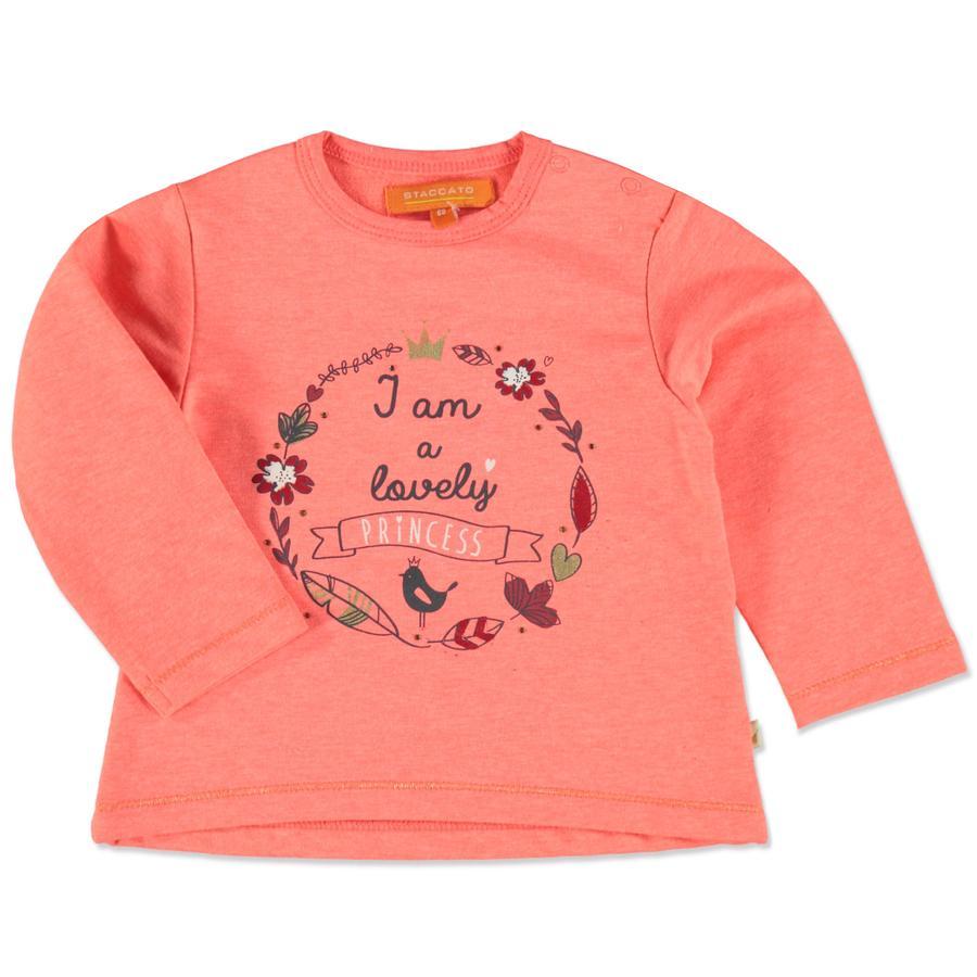 STACCATO Girls Sweatshirt neon pumpkin