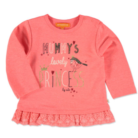 STACCATO Girls Sweatshirt neon pumpkin