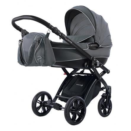 Knorr-Baby Kombibarnevogn Alive Born to Ride mørkegrå