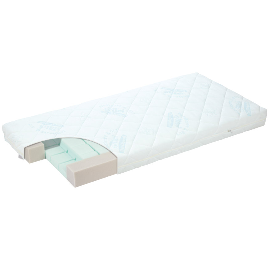 ALVI Mattress MAX 70 x 140 cm with medicott & Dry Cover
