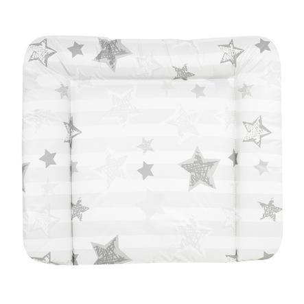 Alvi Wickelauflage Wiko Molly Folie Silver Star weiß 75 x 85 cm