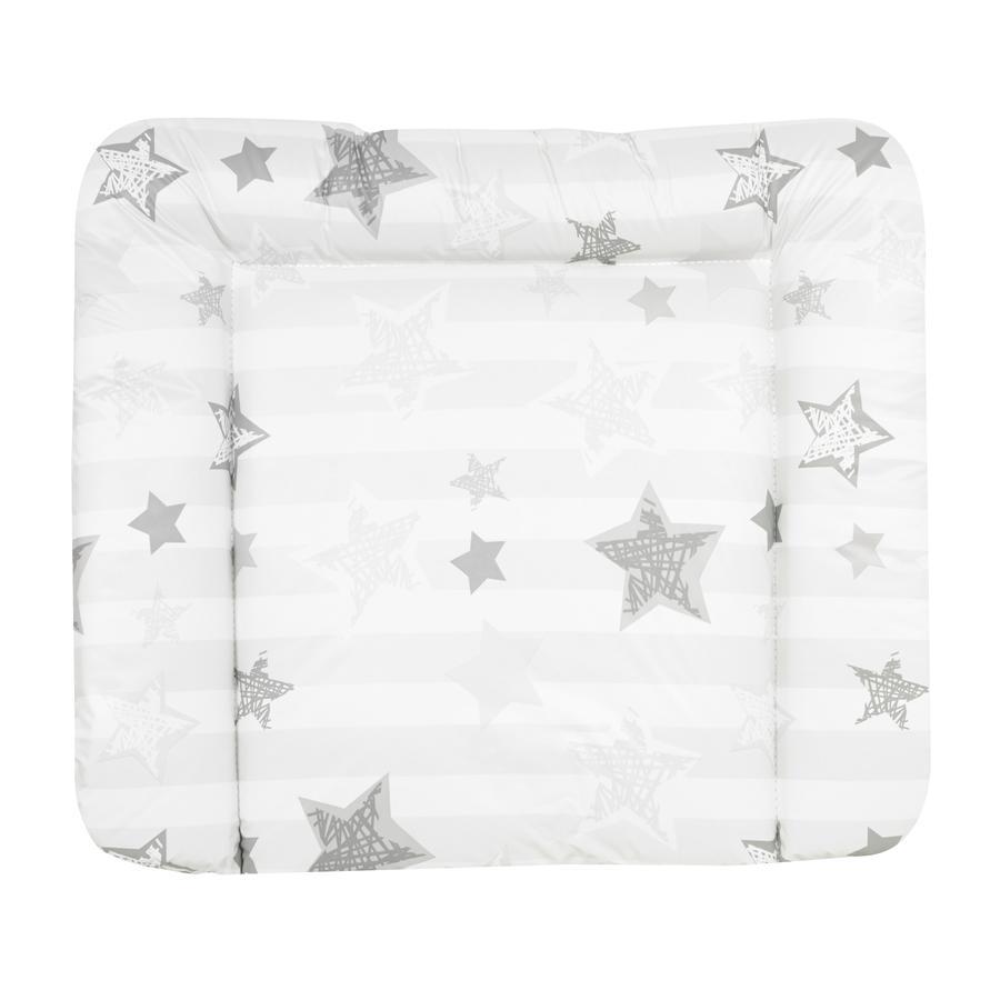 Alvi přebalovací podložka Wiko molly Folie Silver Star bílá 75 x 85 cm