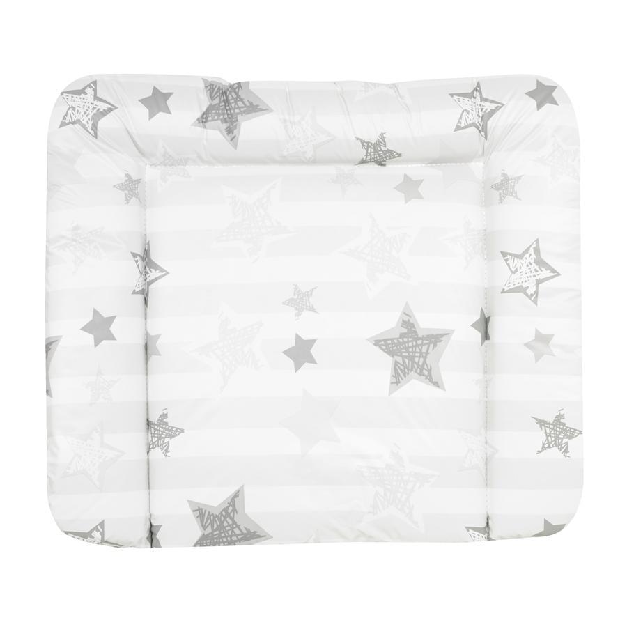 Alvi Wickelauflage Wiko Molly Folie Silver Star weiß 85 x 75 cm