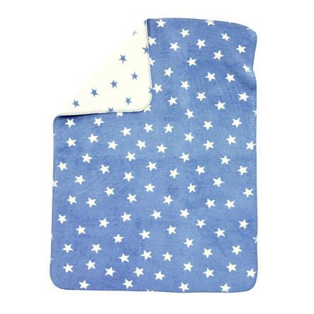 ALVI Babydeken Katoen Sterren, blauw