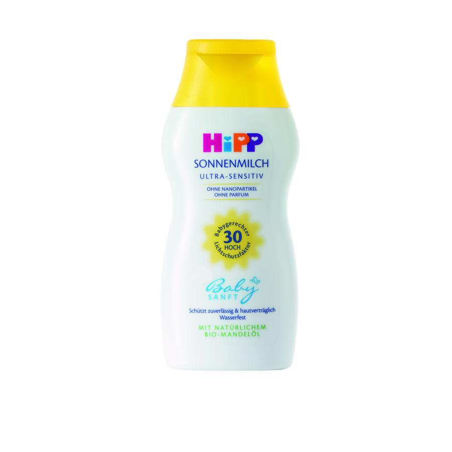 HiPP Babysanft Sonnenmilch LSF 30 200ml