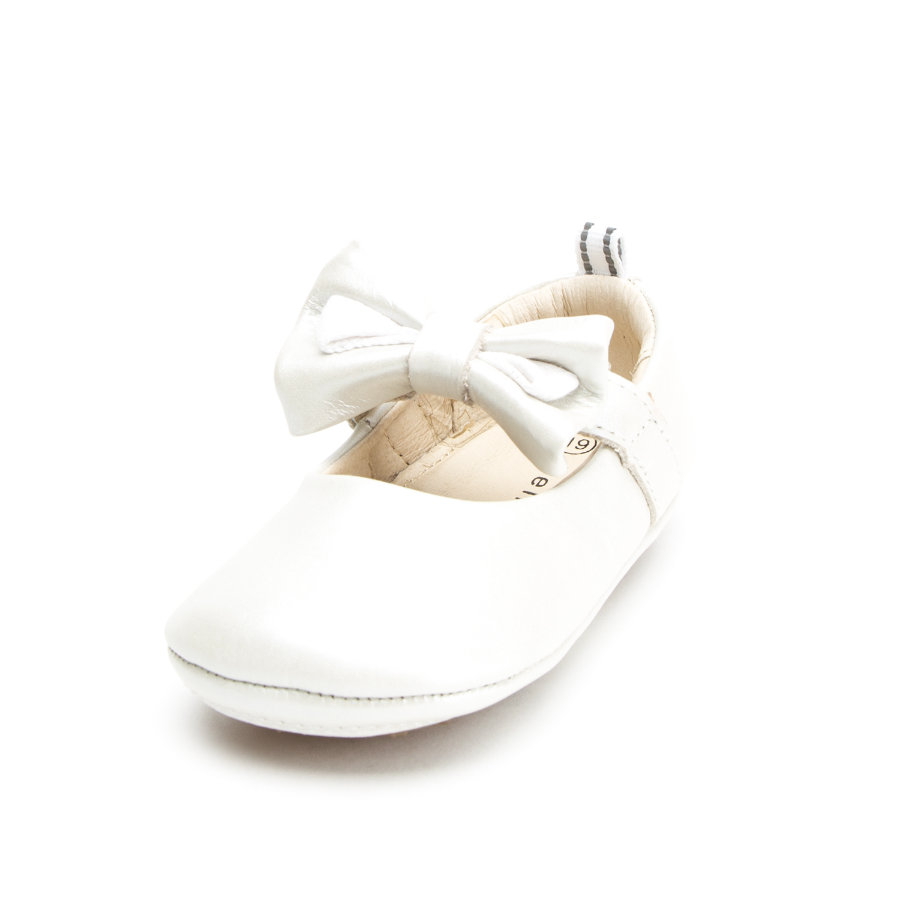bellybutton Girls Krabbelschuhe Ballerina bianco