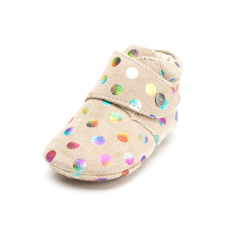 bellybutton Girls Krabbelschuhe taupe kombi