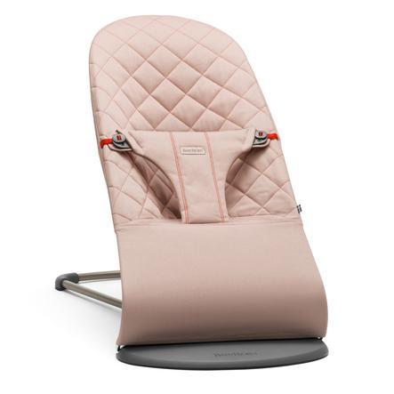 BabyBjörn vippestol Bliss i 3D jersey, lys grå Barnas Hus