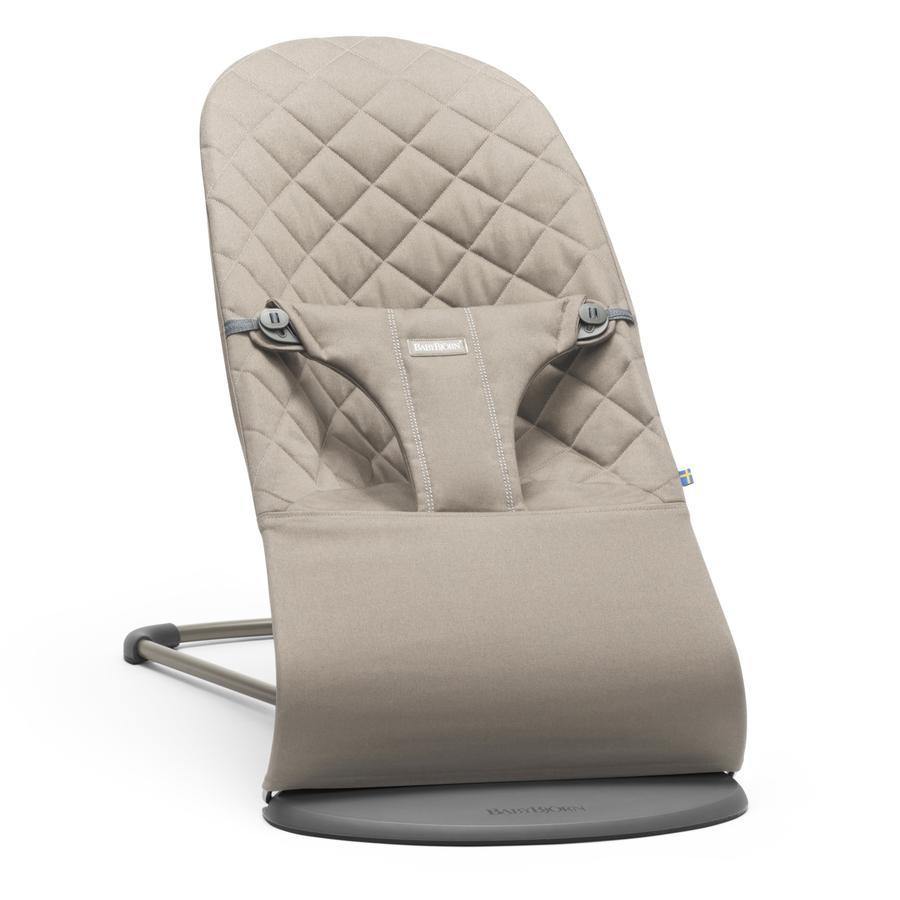 BABYBJÖRN Transat bébé Bliss Cotton, gris sable