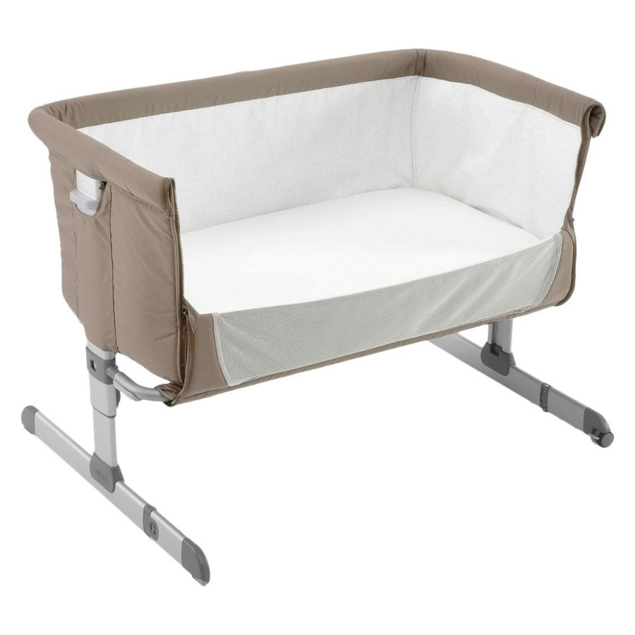 chicco Beistellbett Next2Me Dove grey