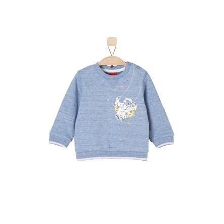 s.Oliver Sweatshirt blue melange