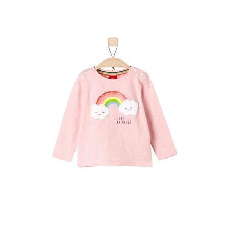 s.Oliver Longsleeve light pink melange