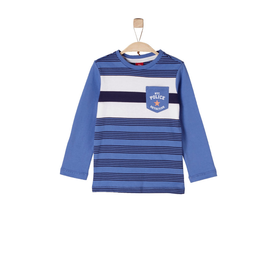s.Oliver Boys Longlseeve blue stripes