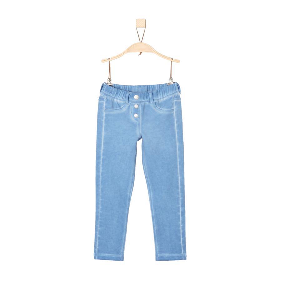 s.Oliver Girls Spodnie Jeggings light blue