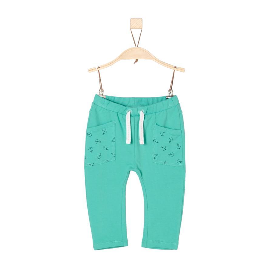 s.Oliver Boys joggingbroek turquoise