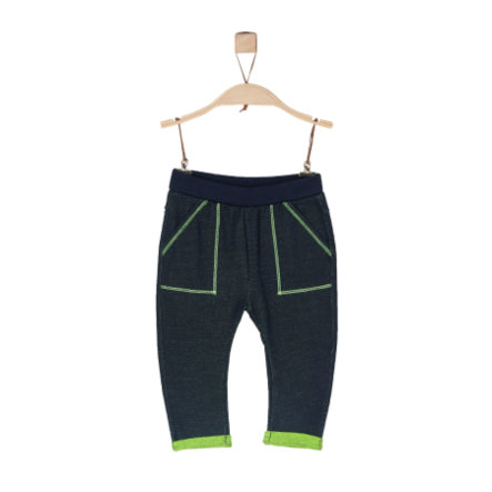 s.Oliver Boys Jogginghose dark blue melange