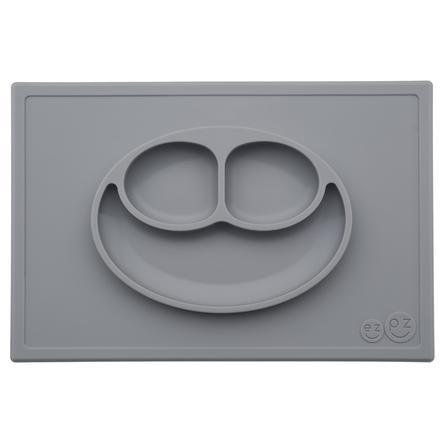 ezpz™ Assiette antidérapante Happy Mat, gris