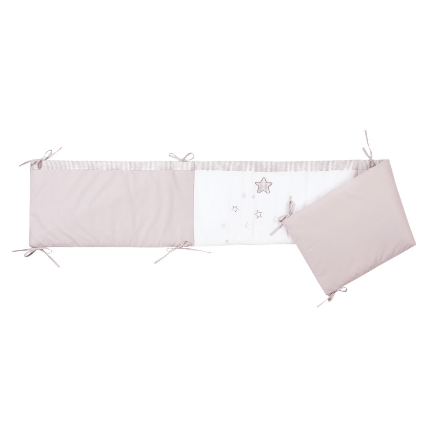 easy baby Mantinel 210 cm taupe star