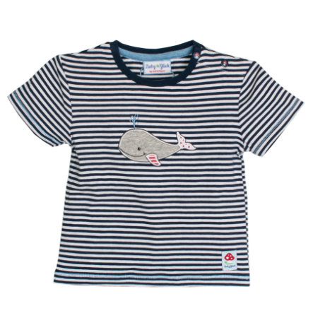 SALT AND PEPPER Baby Glück Boys T-Shirt Walfisch navy blue