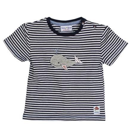 SALT AND PEPPER bambino fortuna Boys T-Shirt balena balena blu marino