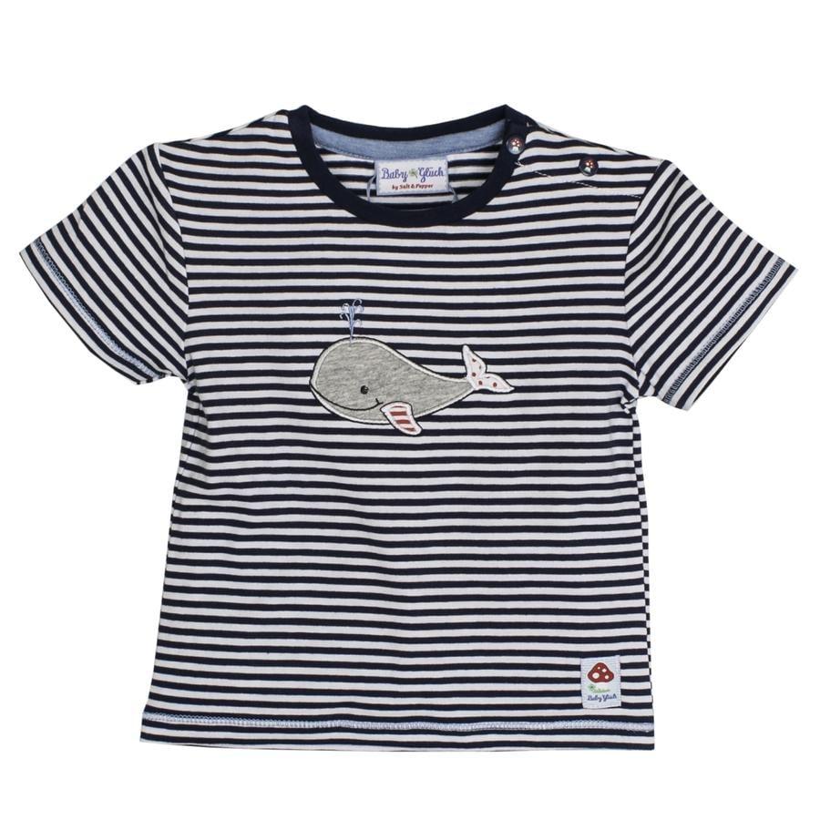 SALT AND PEPPER Boys T-Shirt baleine porte-bébé bleu marine