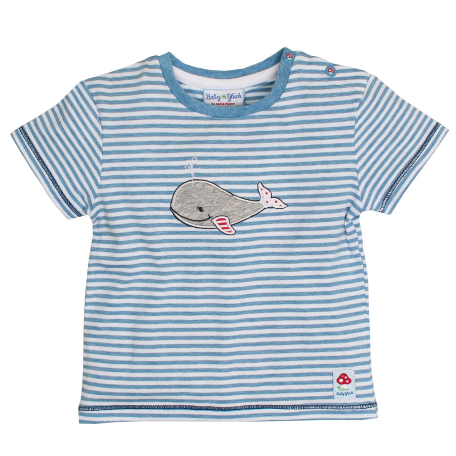 SALT AND PEPPER Baby Glück Boys T-Shirt Walfisch indigo blue