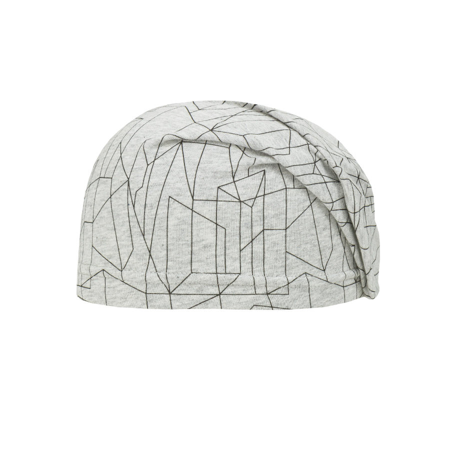 Döll Mössa Jersey light grey melange
